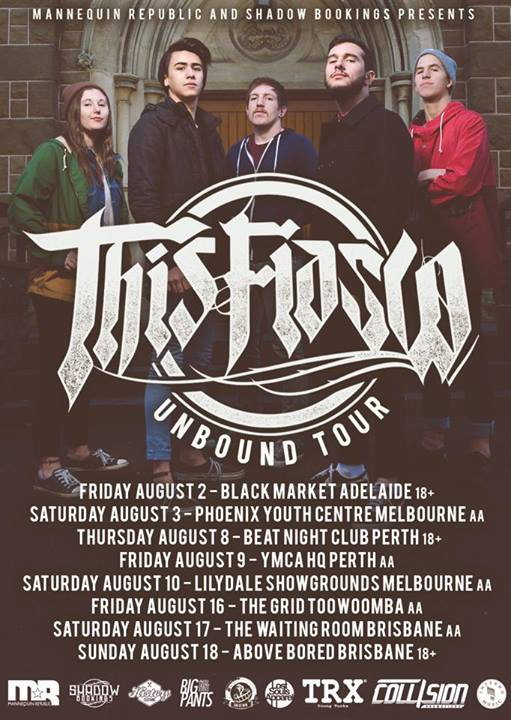 This Fiasco Unbound Tour August 2013 Toowoomba brisbane queensland