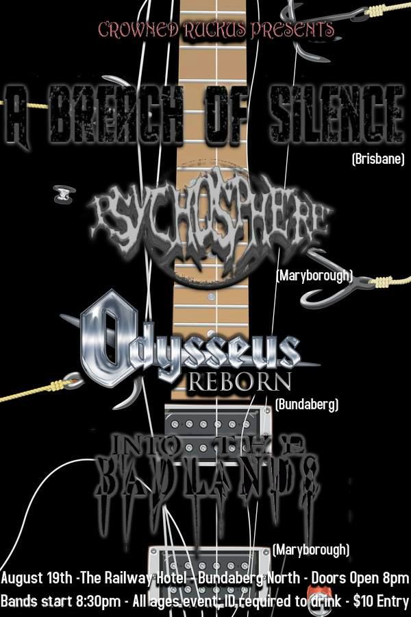 a breach of silence bundaberg north august 19 2016 live hardcore heavy rock metal bands music