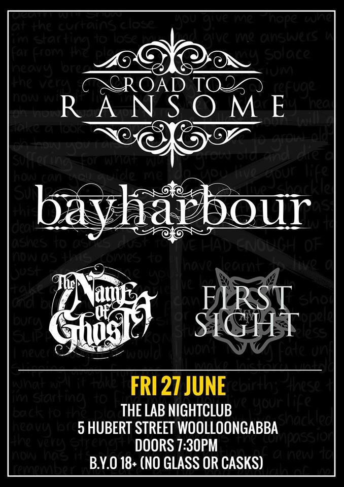 animus tour road to ransome bayharbour the lab woolloongabba friday june 27 2014 live heavy hardcore metal punk music brisbane bands