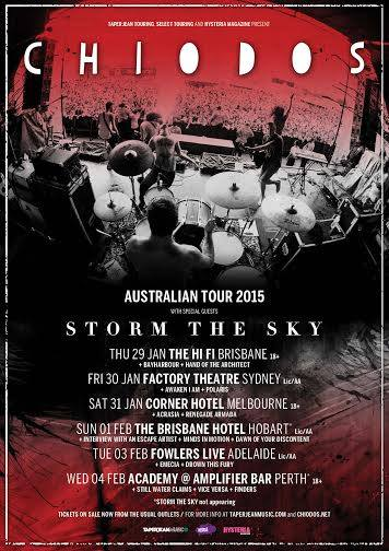 bayharbour chiodos storm the sky hifi bar brisbane thursday january 29 2015 west end american band usa live hardcore punk metal underground rock bands music australia