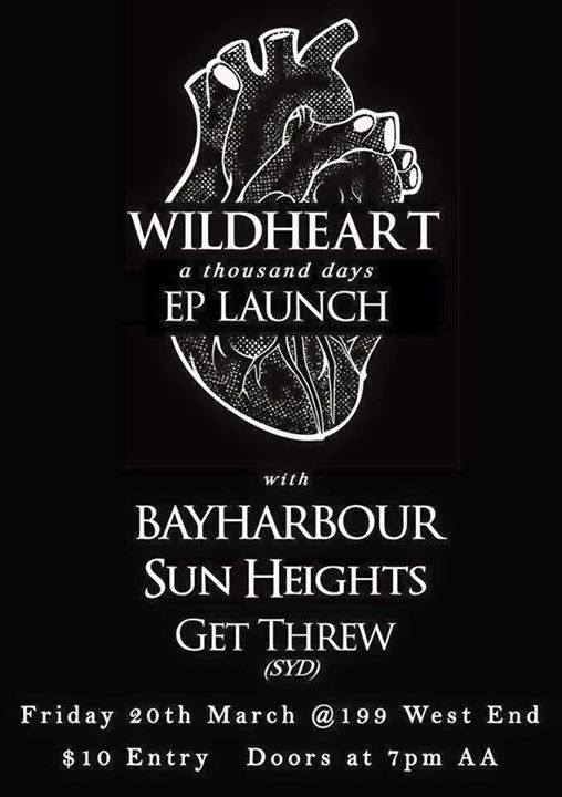 bayharbour upstairs at 199 boundry street west end brisbane march 20 2015 live hardcore rock punk metal heavy music bands ep launch australia