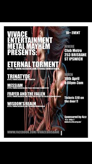 eternal torment trinatyde club metro ipswich pril 19 2014 so much live heavy loud bands and metal music