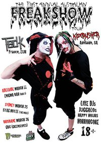 The Jon Experiment with Kid Crusher at Greenslopes Bowls Club March 26 Juggalo Australia