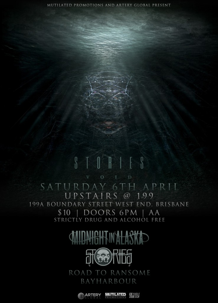 road to ransome midnight in alaska stories play brisbane all ages show in west end live hardcore post-hardcore metal and alternative rock all ages cheap entry