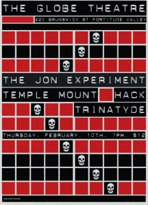 The Jon Experiment and Hack fill in at The Globe Theatre February 10 2011
