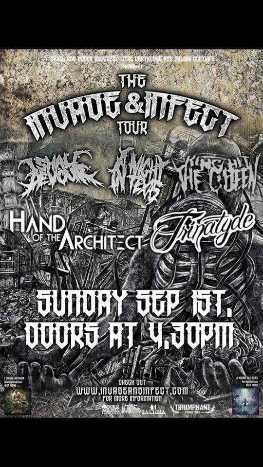 trinatyde toowoomba sunday september 1 2013 heavy metal rock hardcore live bands music