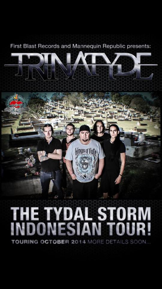 trinatyde tydal storm indonesian tour october 2014
