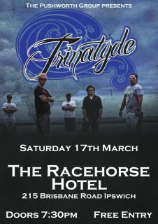 trinatyde at the racehorse hotel brought to you by pushworth group in ipswich march 17 2012 free entry