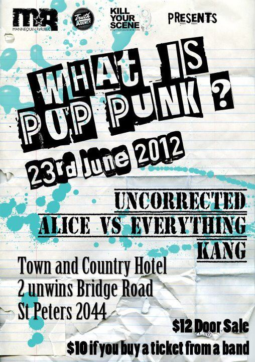 what is pop punk june 23 2012 mannequin republic presents
